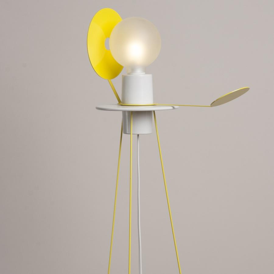 Yellow floor lamp - Eclipse Floor Lamp Yellow