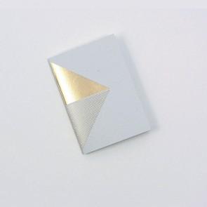 Reflex Pocketbook Brass & Grey