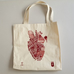 Heart of Athens Tote