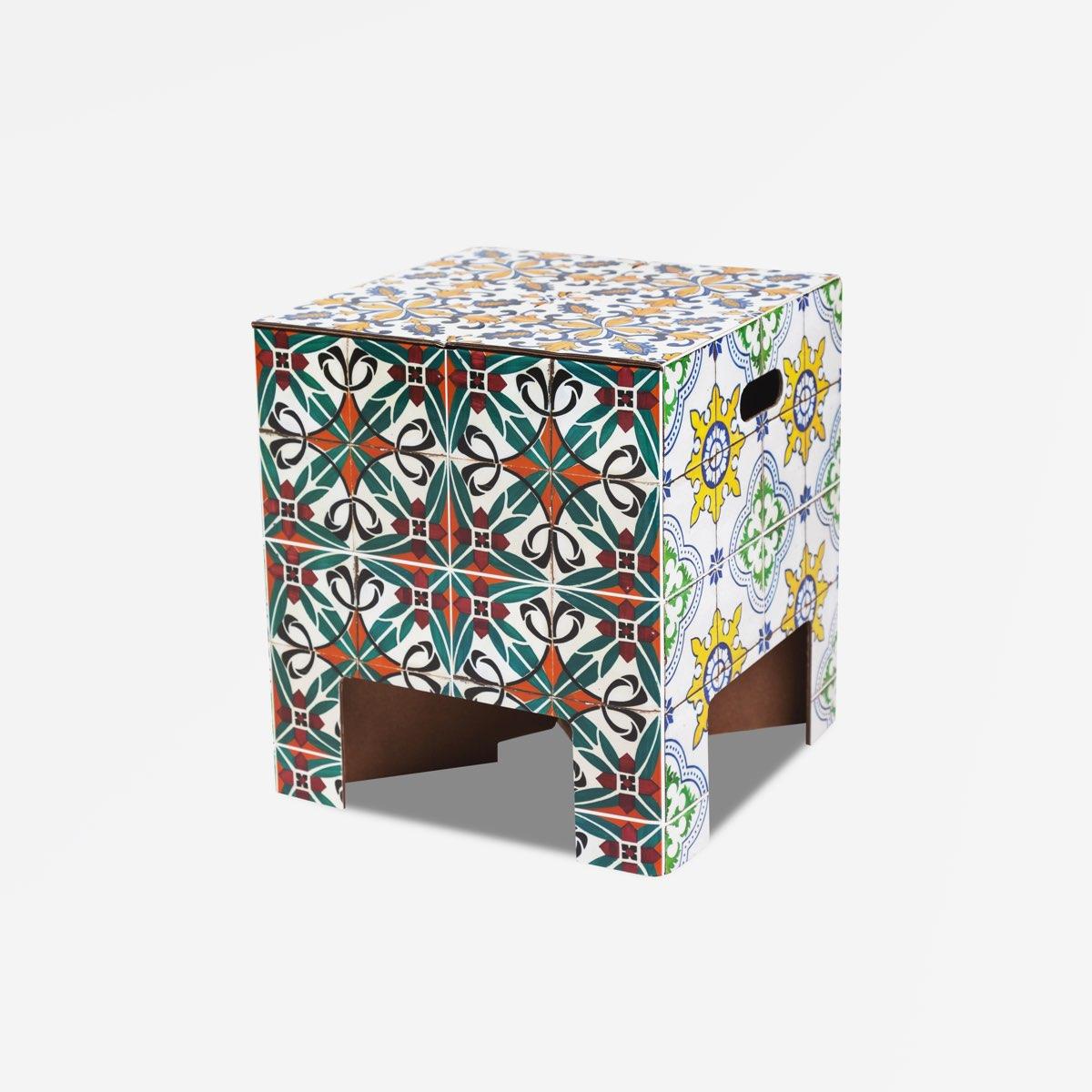 Dutch Design Chair woodstack Dutch Design Chair Tiles