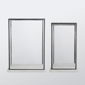 Marble & Glass Showcase
