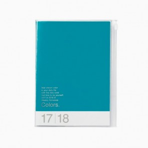 Turquoise A5 Diary 17/18