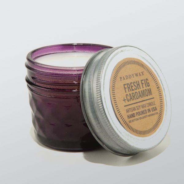 Fresh Fig Cardamom Relish Jar Candle Apothecary