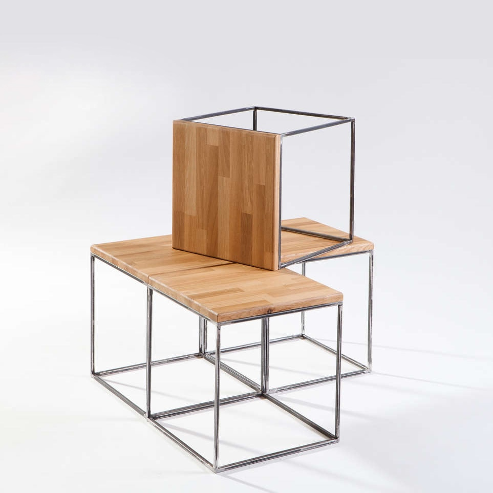 Coffee Cube Oak Seating Tables Shelving Paraphernalia