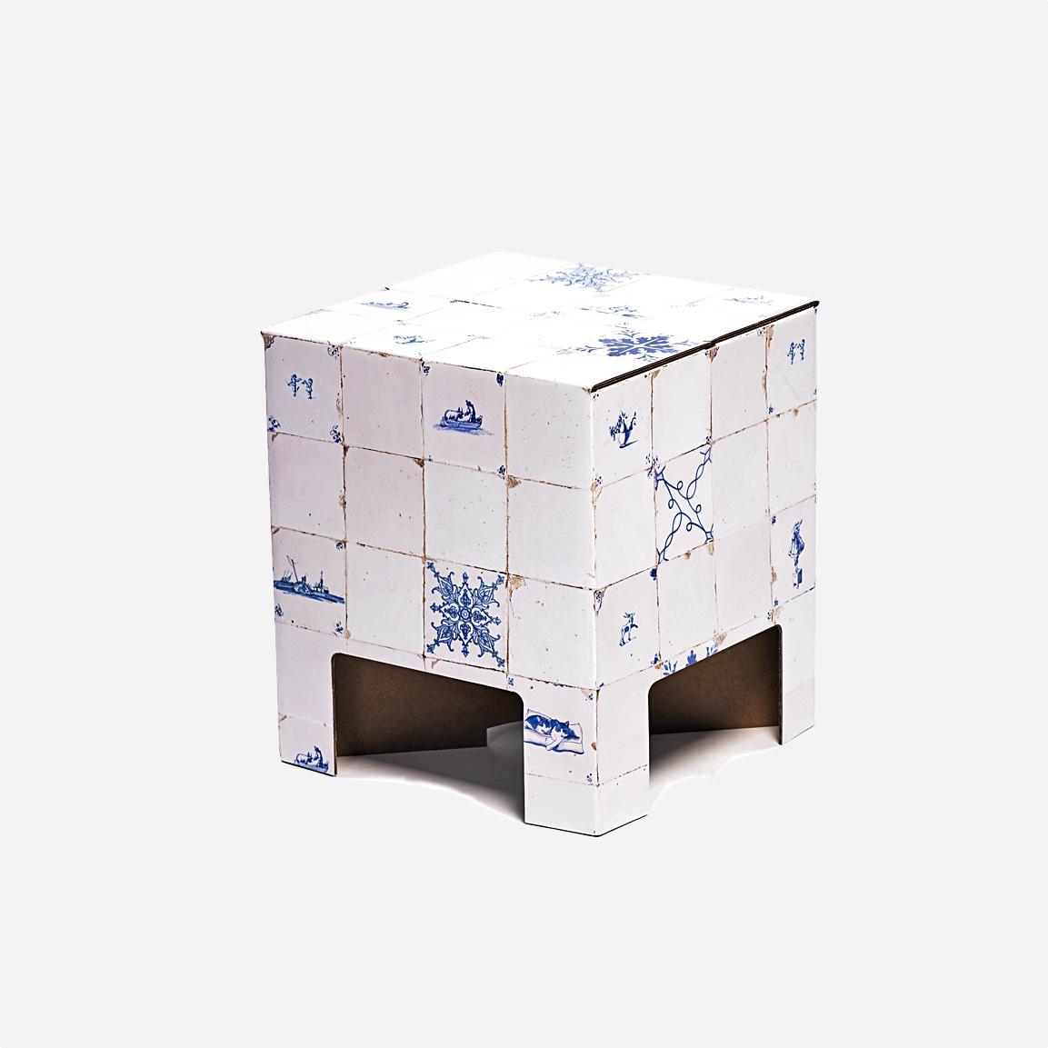 Dutch design chair antique dutch tiles seating tables for Dutch design chair karton