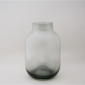 Shaped Vase Grey Large