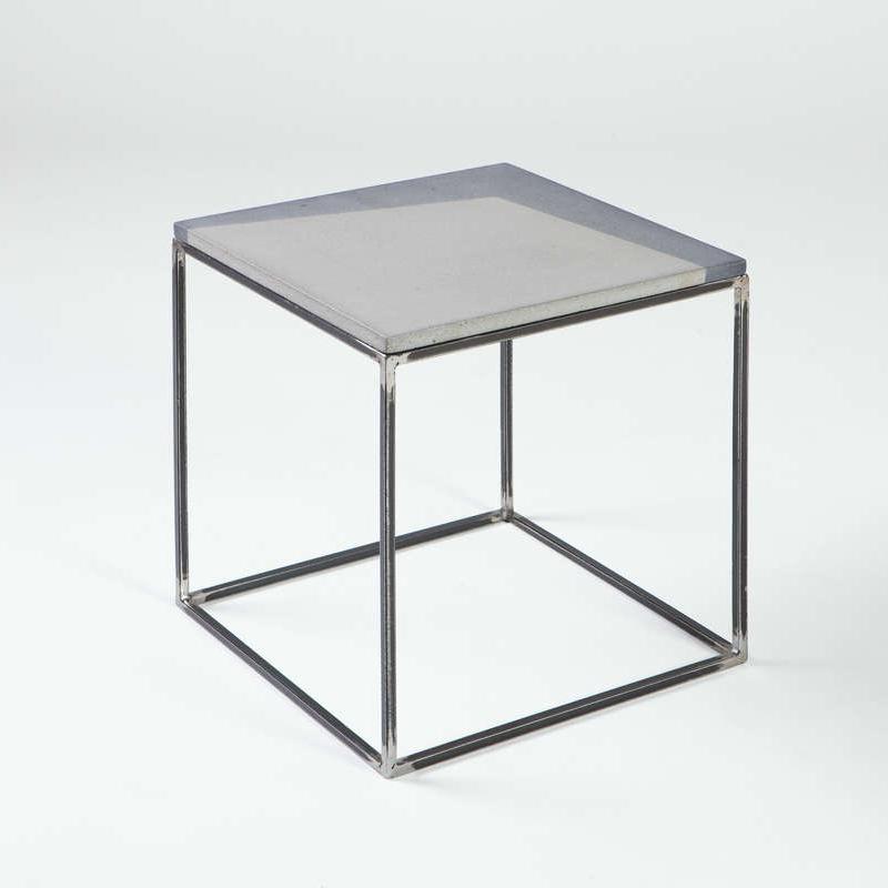 Coffee Cube Concrete Seating Tables Shelving Paraphernalia