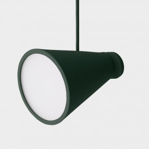 Bollard Lamp Dark Green
