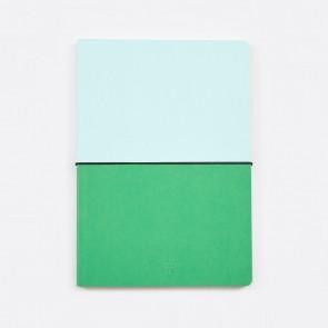 Hibi A5 Notebook Green