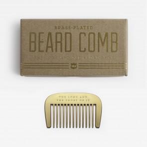 Beard Comb Brass