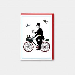 Champagne Cyclist