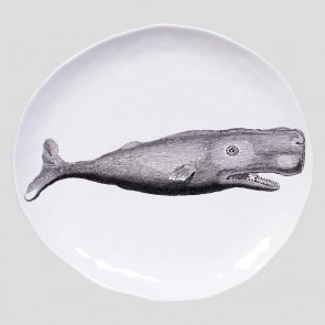 Whale large platter