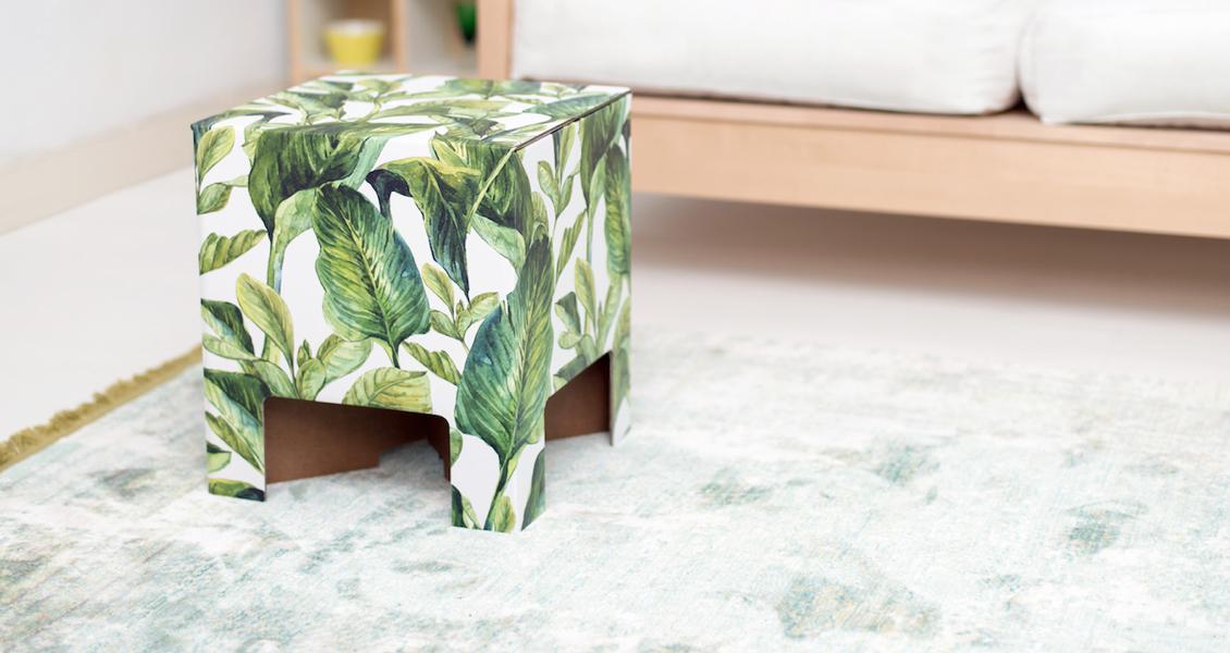dutch-design-chair-green-leaves-2