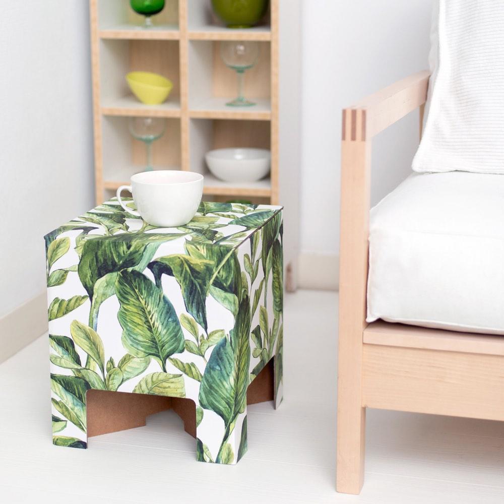 Dutch Design Chair dutch design festival chair cowhide Dutch Design Chair Green Leaves