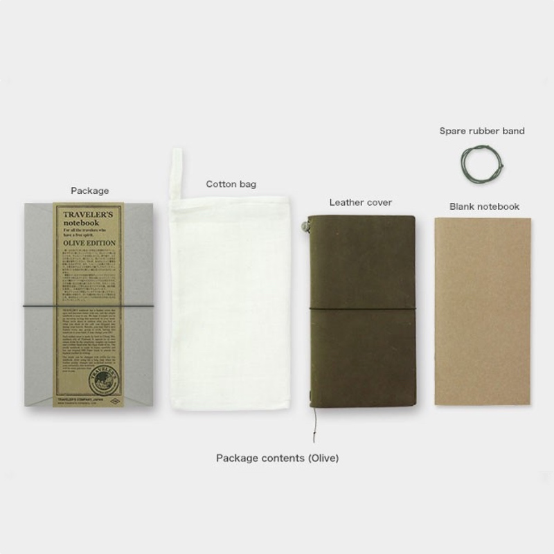 Traveler's Notebook Olive Limited Edition