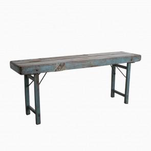 Console Table Vintage Blue