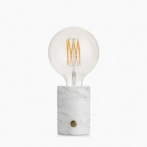Orbis white marble