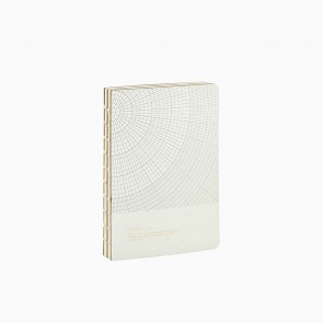 Notebook Geometric Grey