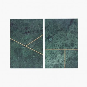 Marble Plate Green