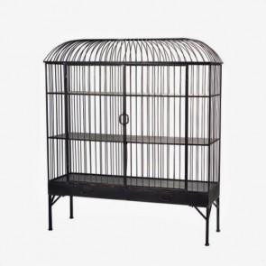 Metal Birdcage Cabinet Large