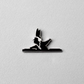 DJ Rabbit Enamel Pin