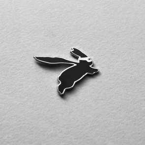 Superhero Rabbit Enamel Pin