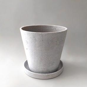 Polystone plant pot