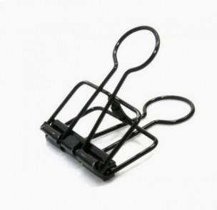 Black Binder Clip
