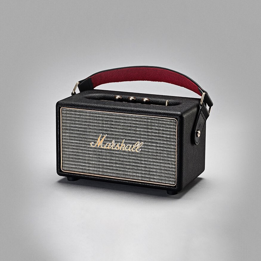 Kilburn Portable Bluetooth speaker black