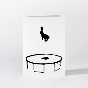 Bouncing Rabbit Card