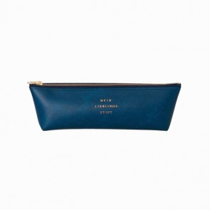 Fastener Pen Case Navy