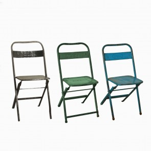 Folding Iron Chairs