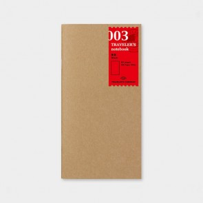 Traveler's Notebook Refill Blank