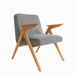 Bunny armchair Tweed Grey