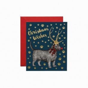 Christmas Dog Foiled
