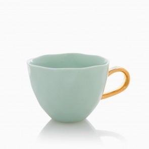 Good morning mug Celadon