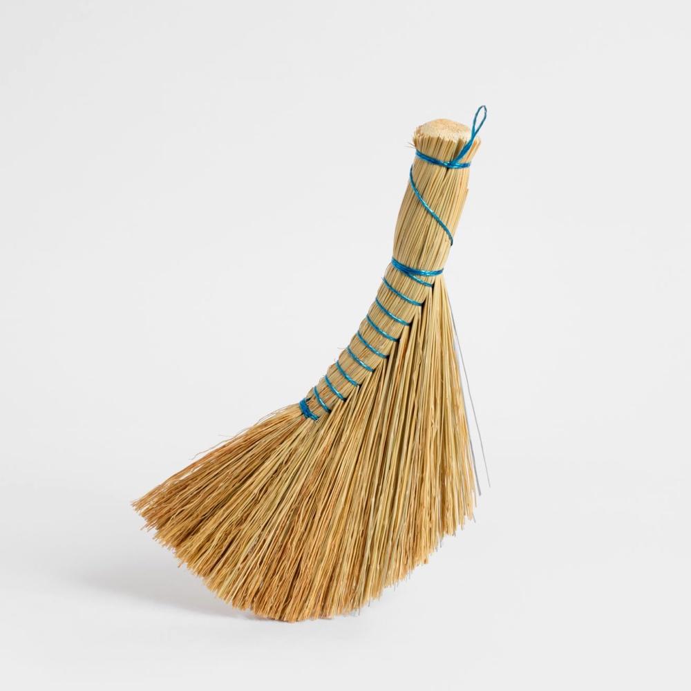 Rice straw hand brush