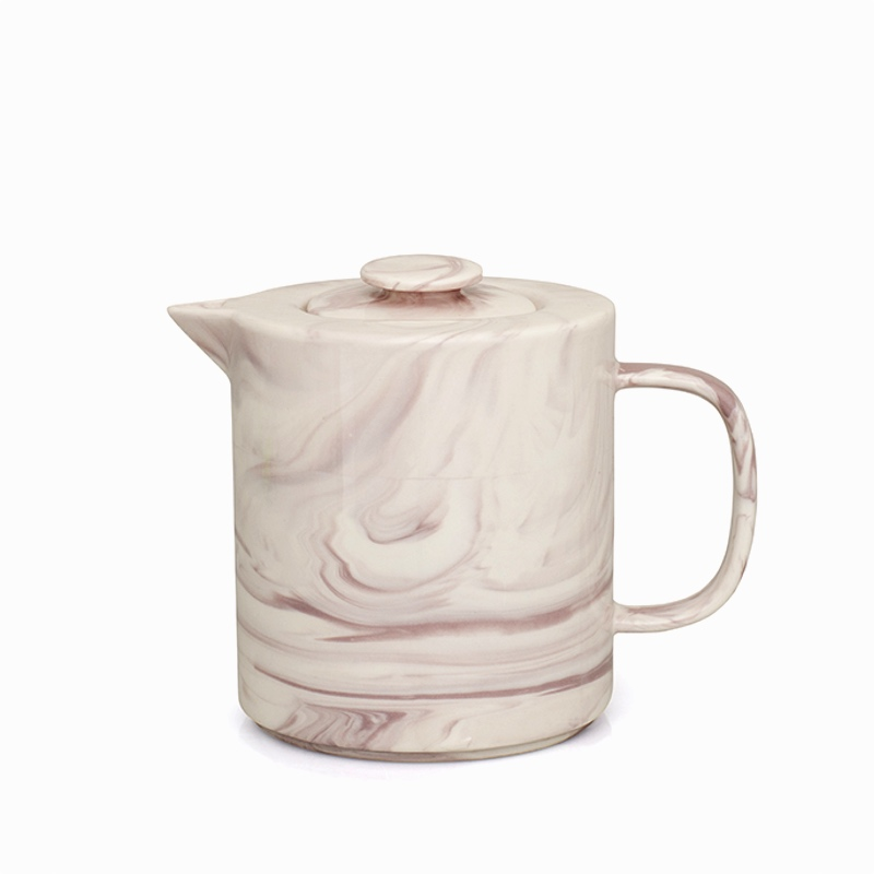 Marble Teapot Pink