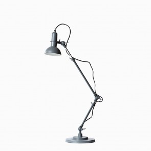 Indu Table Lamp Grained Grey
