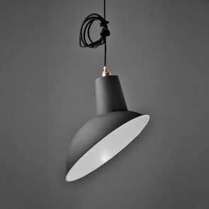 Industrial Angled Cloche Lamp Shade