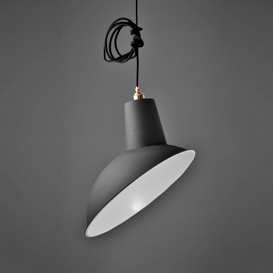 Angled Cloche Lamp Shade