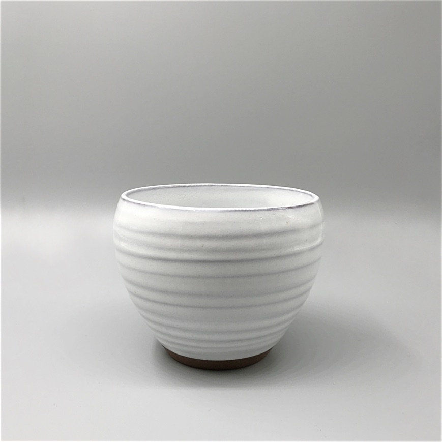 Ceramic bowl white
