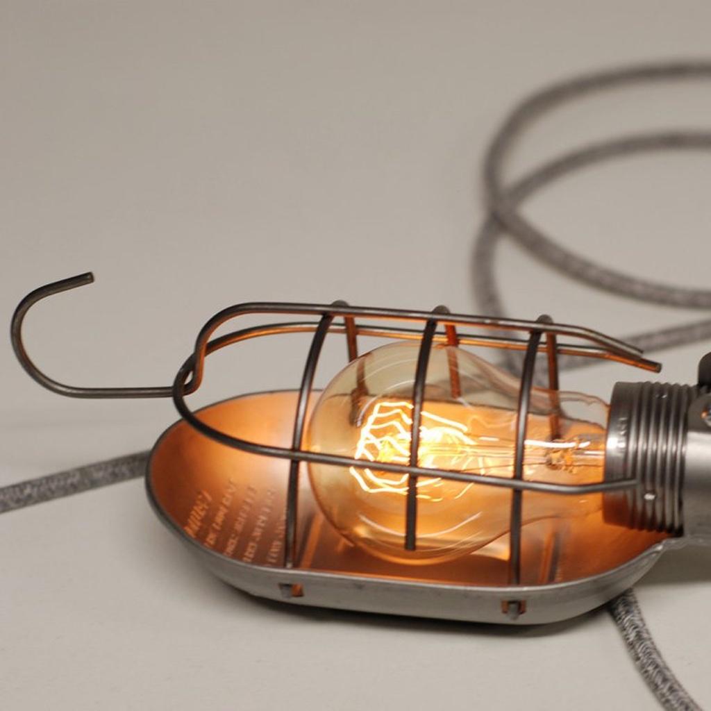 Industrial Handy Lamp