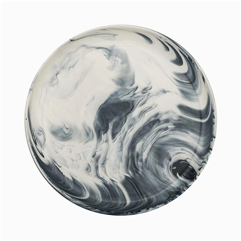 Marble Dinner Plate Grey