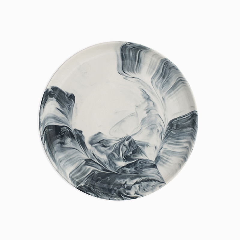 Marble Side Plate Grey