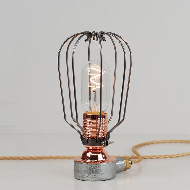 Conduit Box Table Lamp Raw