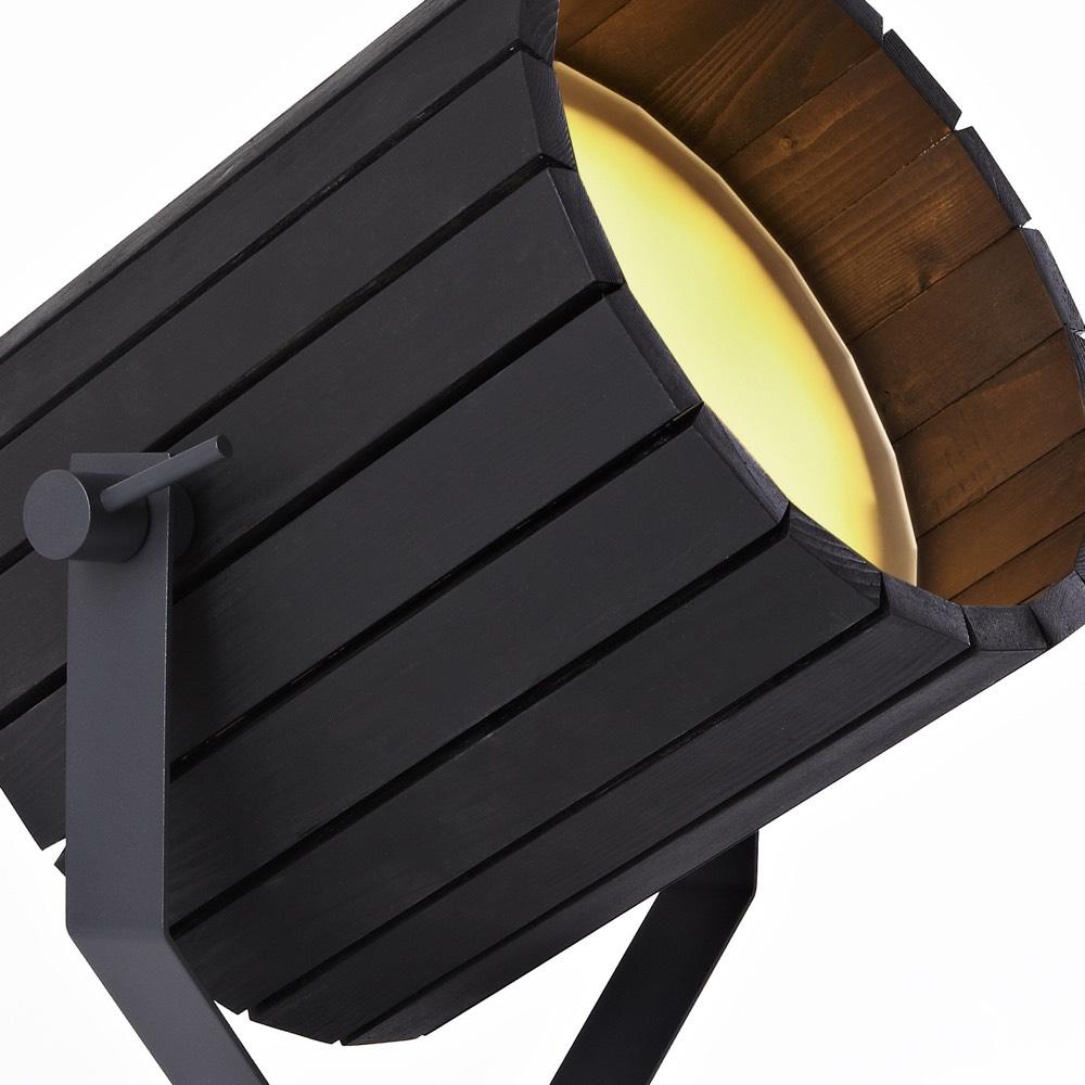 Big Barrel Lamp Black
