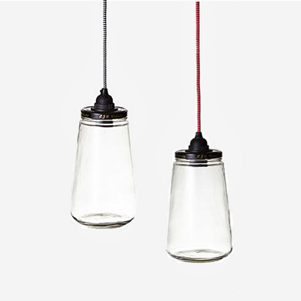 Pickle Jar Pendant Lamp