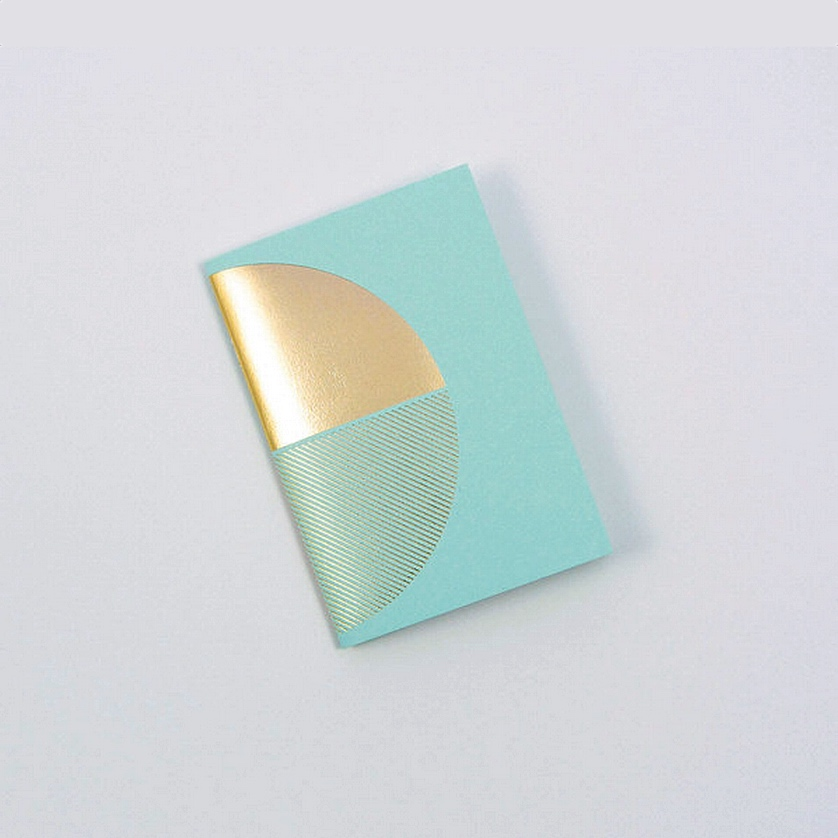 Reflex Pocketbook Brass & Mint