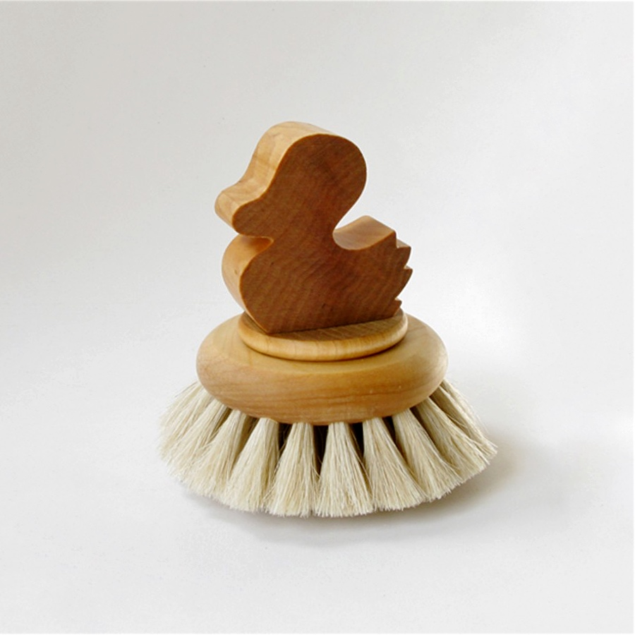 Bath Brush Duck